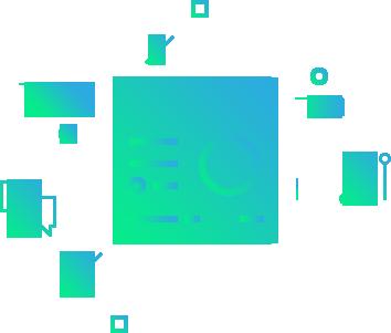 Icone representativo de desenvolvimento de software / apps