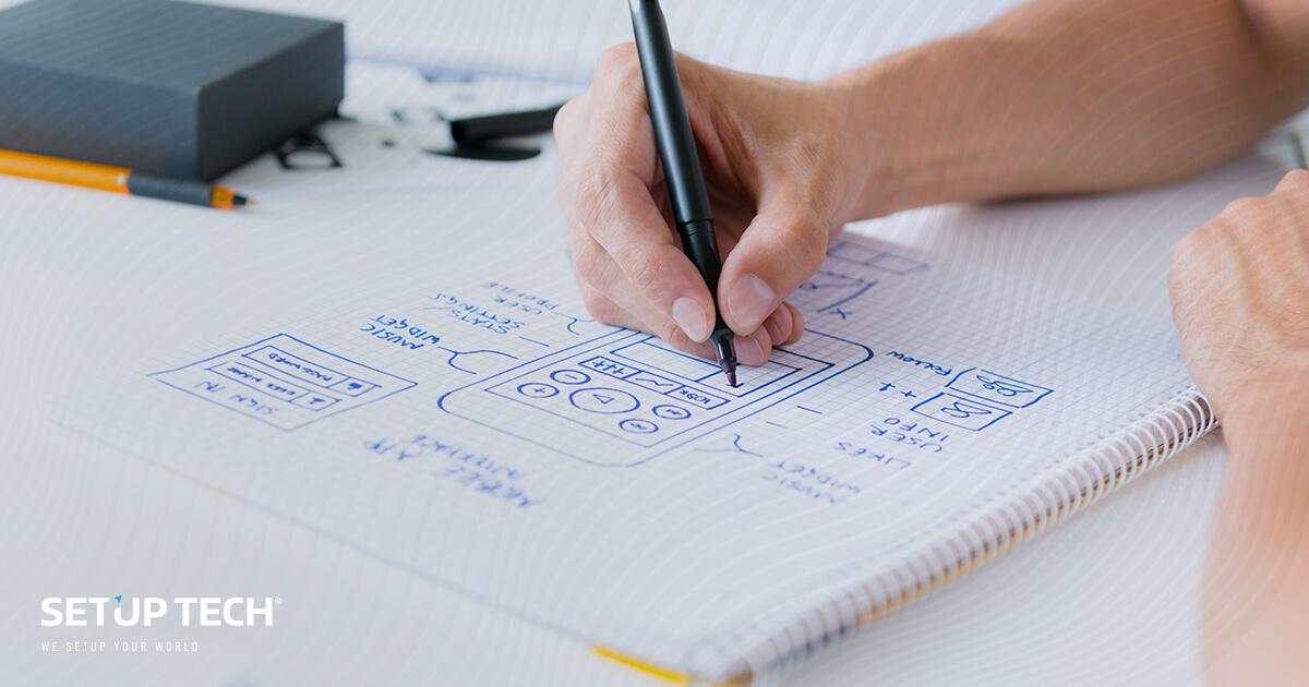 desenho e planeamento de apps